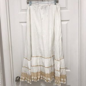 Ralph Lauren BOHO skirt lined cotton